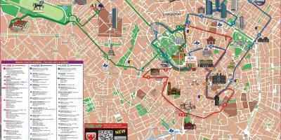 Milano Karta Karta Na Milano Lombardiya Italiya